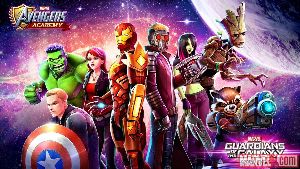 MARVEL Avengers Academy Club
