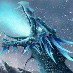 Jeff the ice dragon